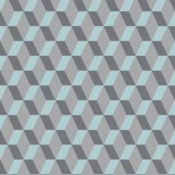 Heterogene vinylgulv / Akustikkgulv | Tapiflex Excellence 80 |                                                          Cubic BRIGHT ICE BLUE