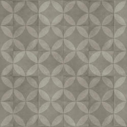 Vinyl Rolls | EXCLUSIVE 240 CREATIVE CONCRETE |                                                          Tile Flower DARK GREY