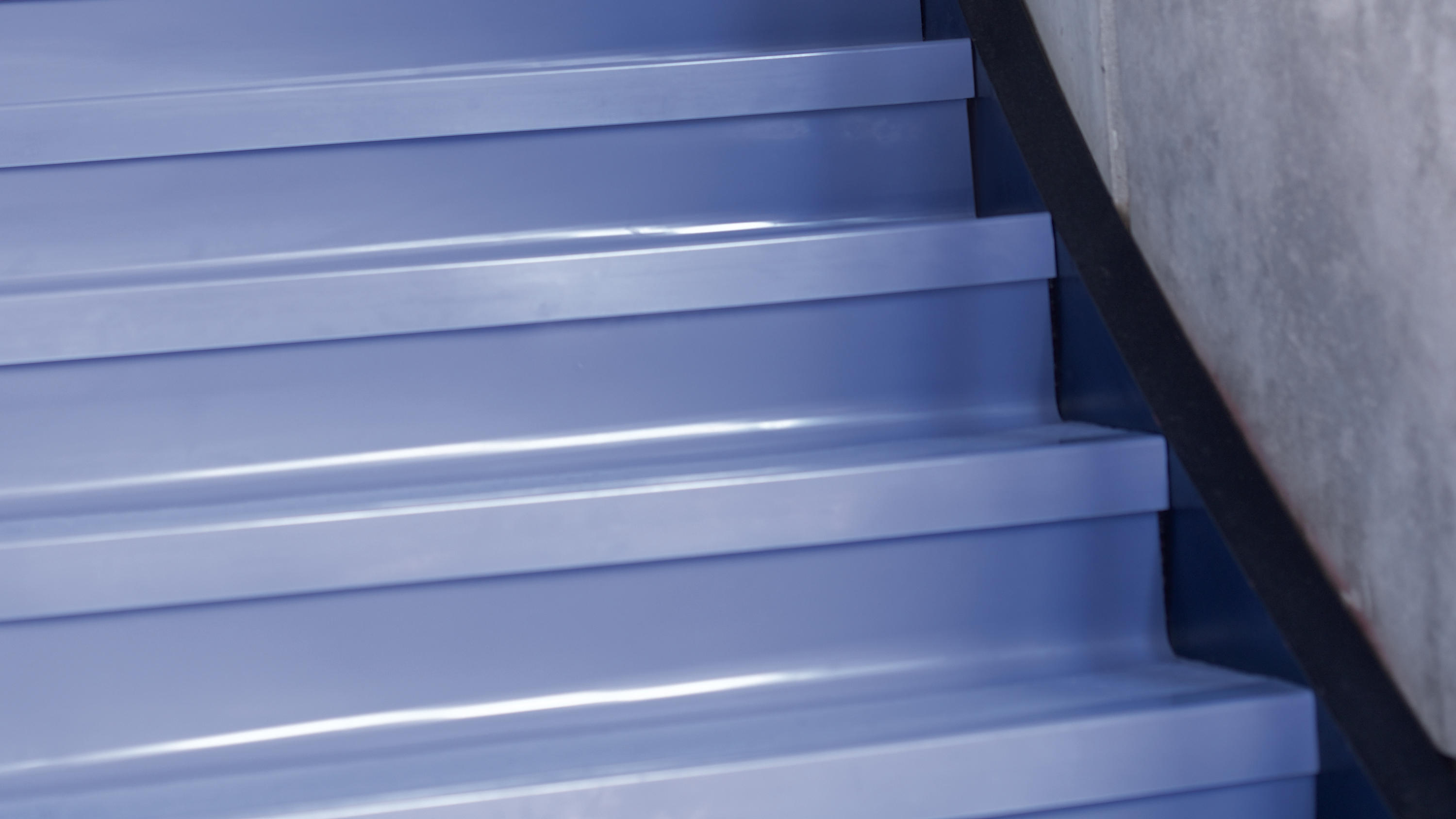 Stairwell Management Angle Fit Rubber Stair Tread With
