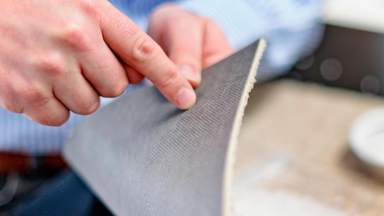 ecobase backing, carpet tiles