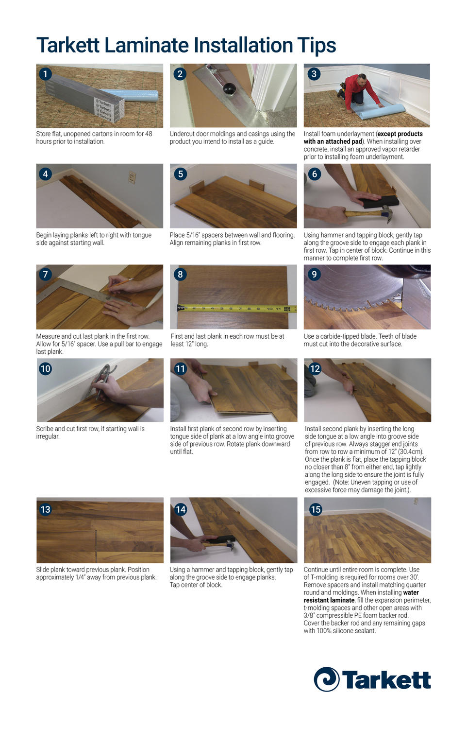 DIY Laminate Installation Tips: Step-by-Step