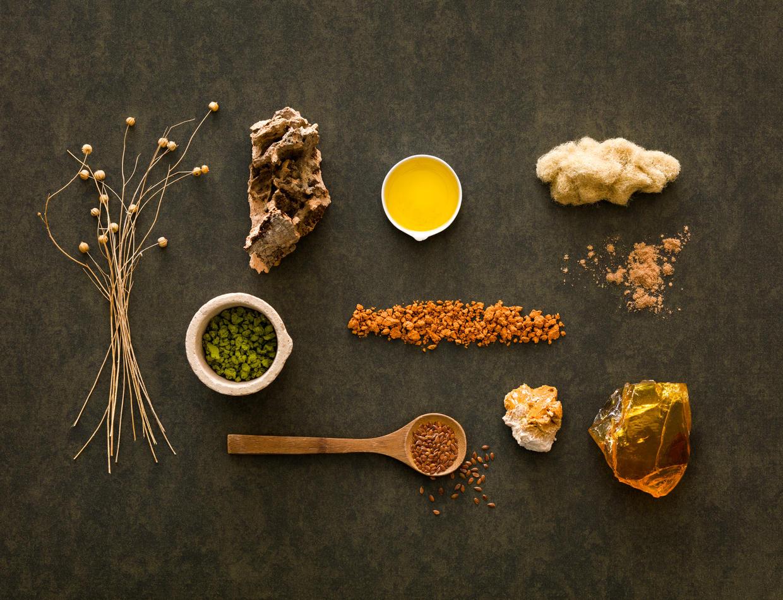 Our linoleum natural ingredients