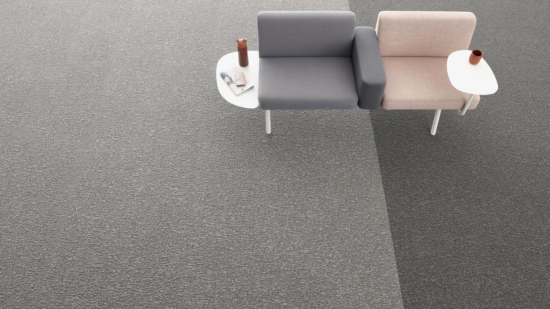 Luftkvalitén i ett rum inrett med AirMaster® är upp till fyra gånger bättre än ett rum med andra textilgolv.