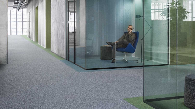 DESSO Essence tapijttegel installatie monolitisch