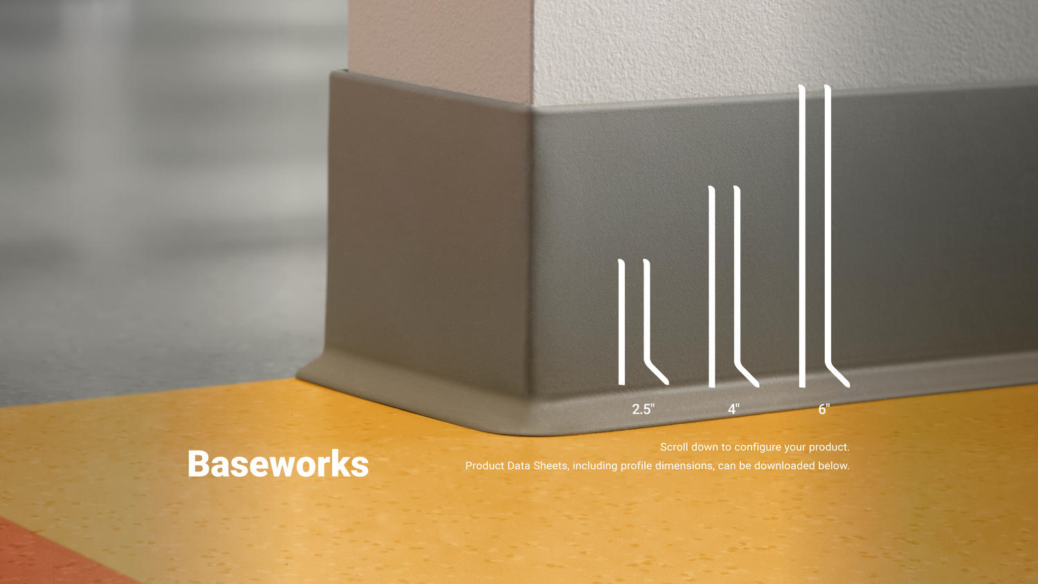 Baseworks Thermoset Rubber Wall Base Commercial Flooring