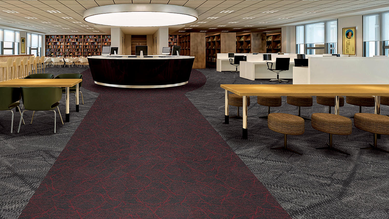 Airspace Commercial Modular Amp Powerbond Carpet
