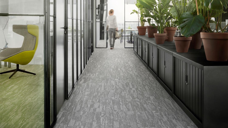 Natural Two Tone Carpet Tiles Desso Harvest Tarkett