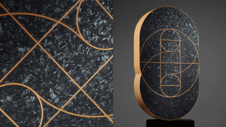 iQgolv från Tarkett med mönster skapade av svetstråd