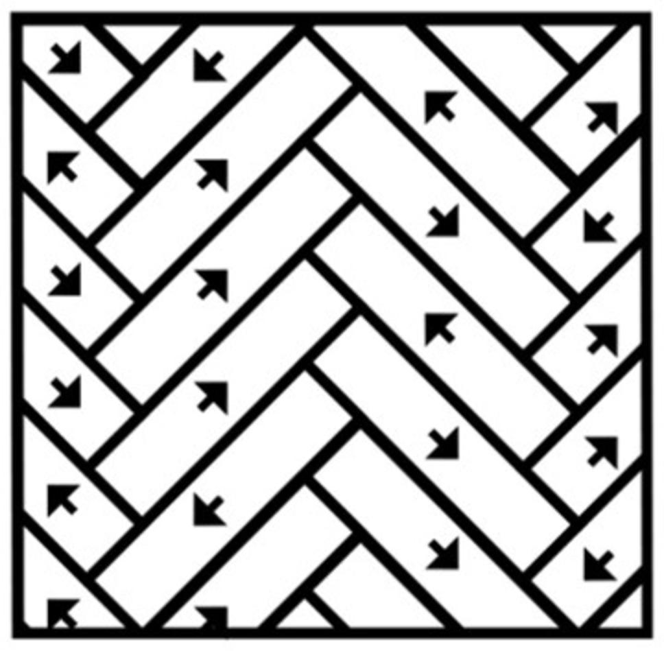 Installatie tapijtplanken Visgraat Multi Way