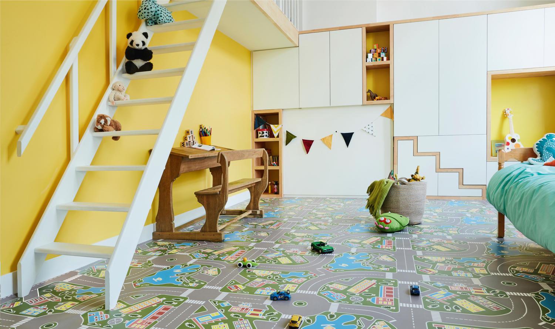 Choosing Vinyl Flooring For Children