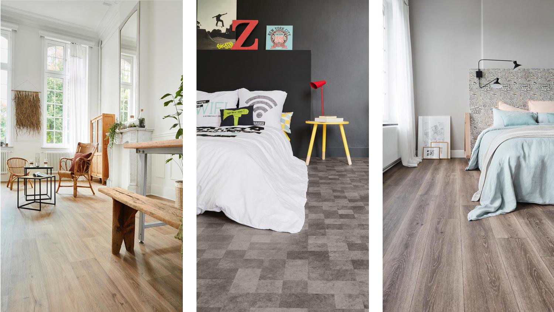 Vinyl flooring in Living Rooms and Bedrooms | Tarkett