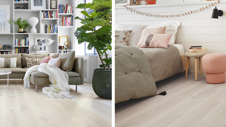 Tarkett Parkett: Holzboden im Wohnzimmer und Schlafzimmer