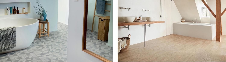 Bodenbelag für Badezimmer - Badezimmerboden