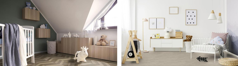 Holzböden im Kinderzimmer