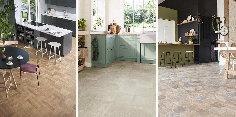 Bodenbelag für die Küche - Küchenboden