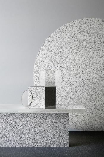 Terrazzo Tile Effect Iq Surface Vinyl Flooring Tarkett