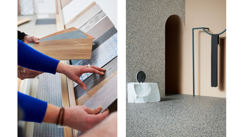 Phthalate free flooring