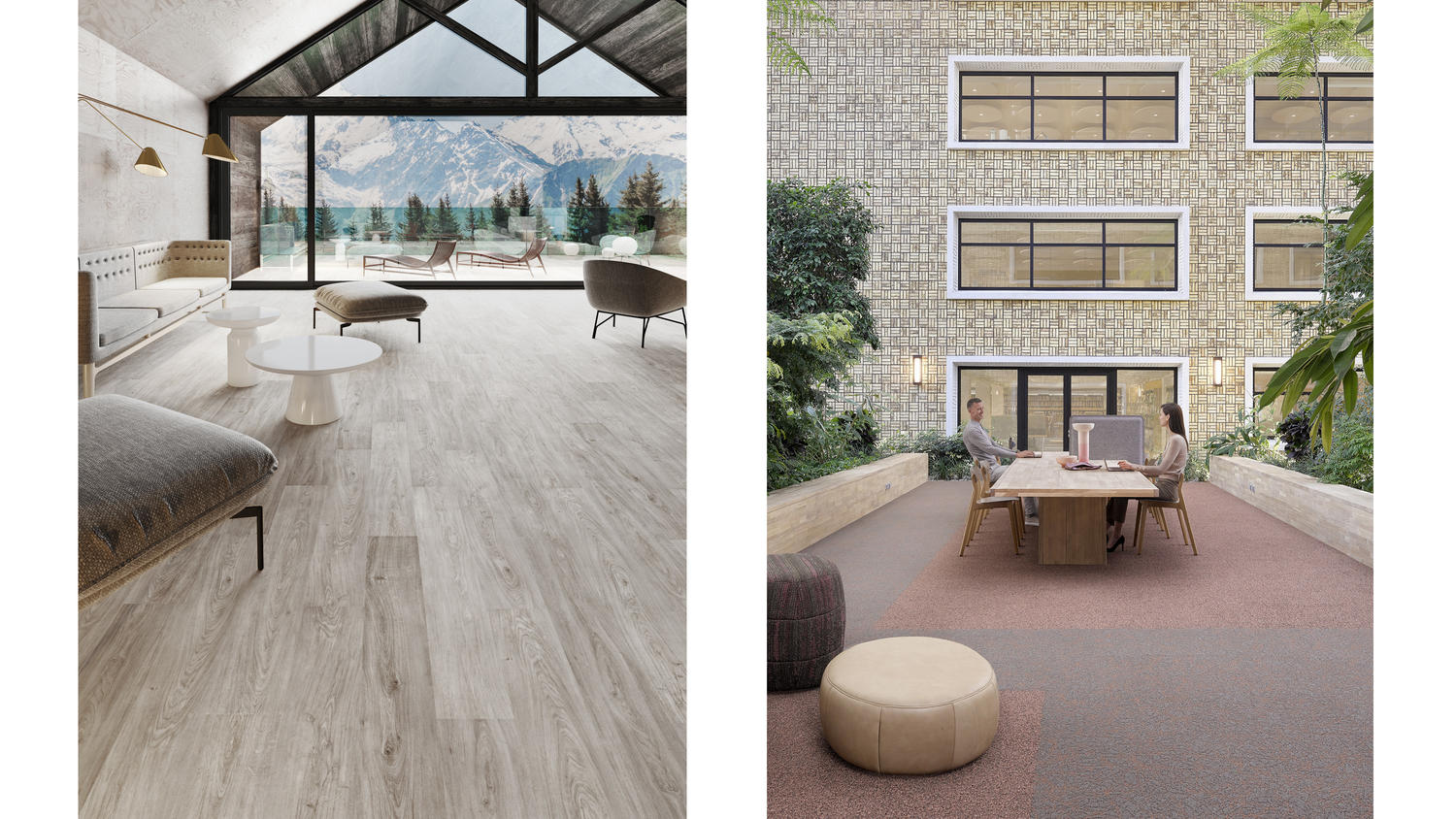 Using recycled content in flooring