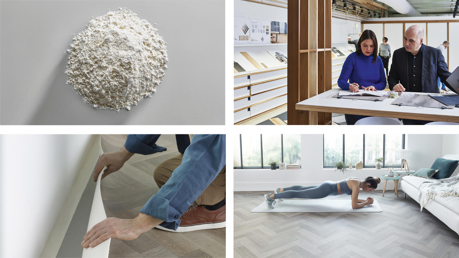 From cradle to use, see how our flooring are designed, installed and used for quality living.