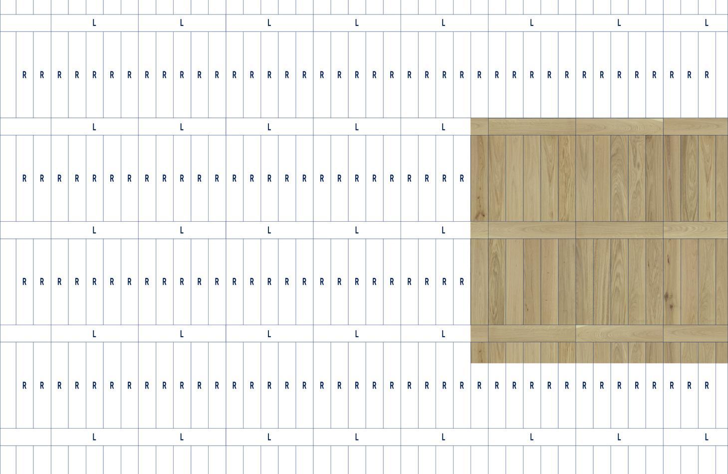 Mönsterlägg Segno Tarkett Parkettgolv Parkett moduläritet