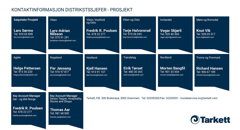 Prosjektselgere i Norge