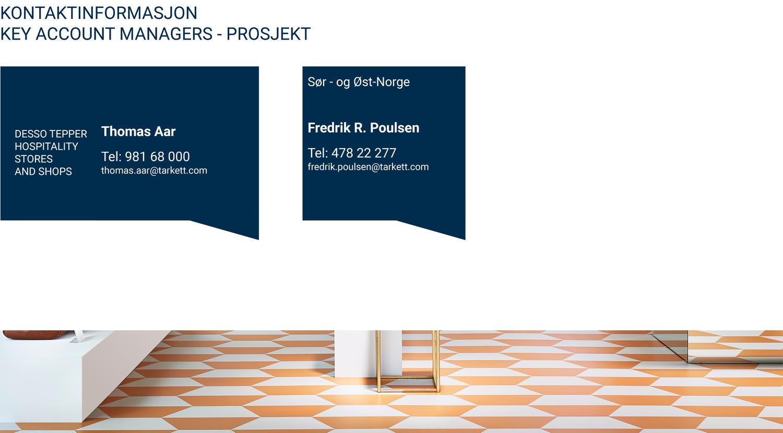 Key Account Managers på prosjekter i Norge