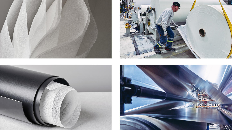 Tarkett sustainable Linoleum factory in Narni Italy