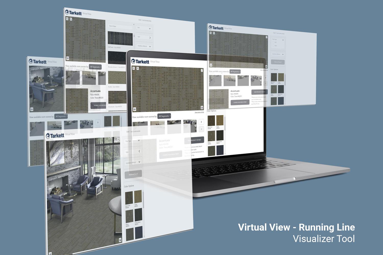 Virtual View - Running Line visualizer tool