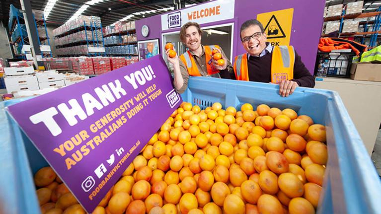Tarkett Australia Helps the Local Fight Against Hunger