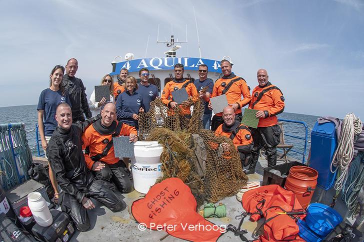 De strijd tegen afval in zee