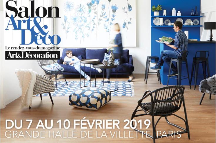 Retrouvez-nous à la 4ème édition du Salon Art&Déco du 7 au 10 février !