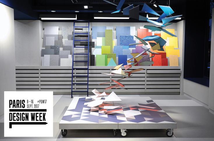 L'Atelier Tarkett à la Paris design Week