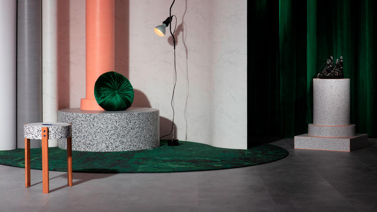 Curve the product for a contemporary myth-inspired design