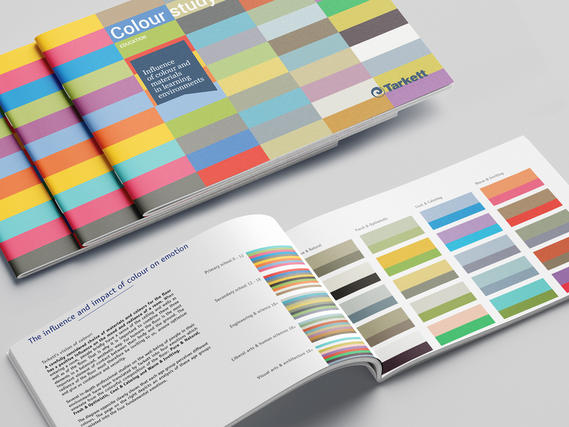 Why colour matters in Education design:        Tarkett colour study