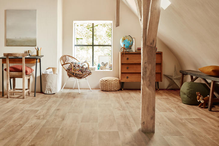 Choosing wood floors for a child's bedroom