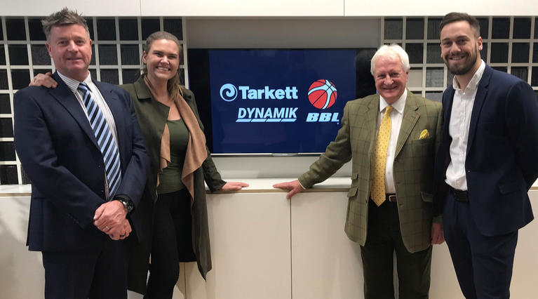 Tarkett and DYNAMIK sign up as official flooring partners of British Basketball League