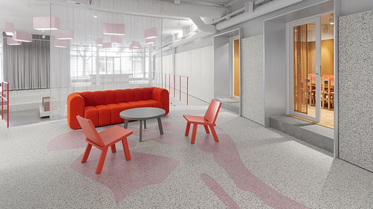 Tarkett et Note Design Studio interprètent l'économie circulaire dans le nouveau showroom de Tarkett à Stockholm