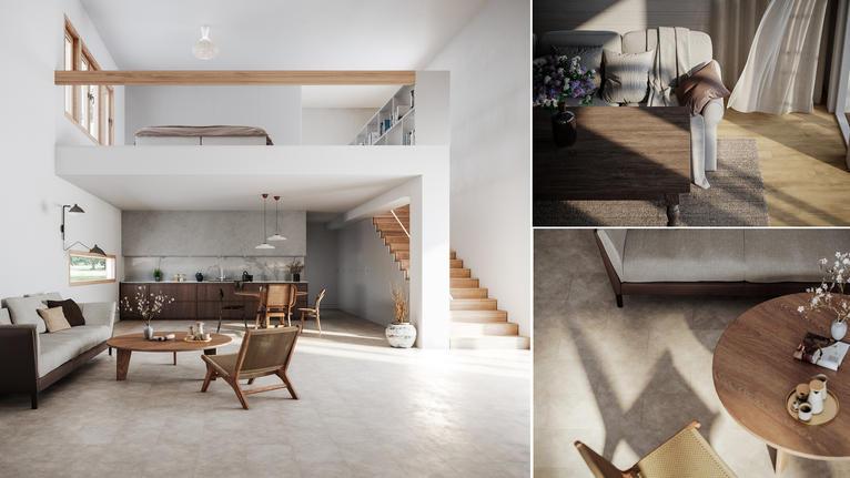 Fina och lättlagda golv för fritidshuset