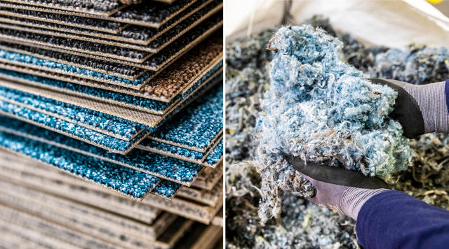 Recyclable Carpet Collections