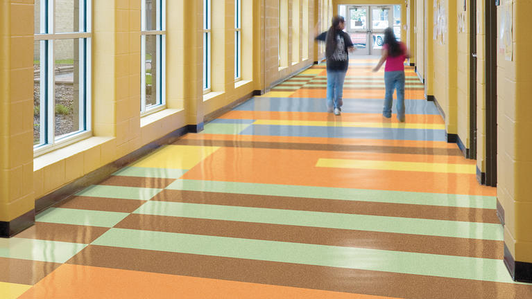 composition tile tarkett