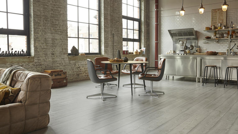 Tarkett Laminate. Change the way you look at laminate flooring.