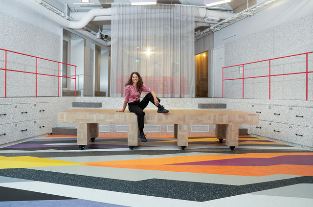 Magdalena Nilsson tolkar Circular Collection i Tarkett Ateljé