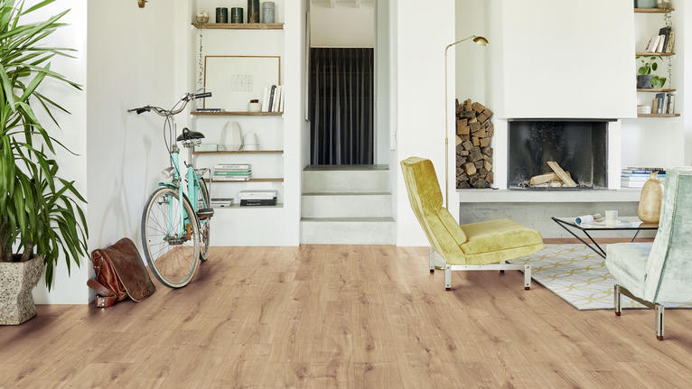 Choosing laminate floors for a living room