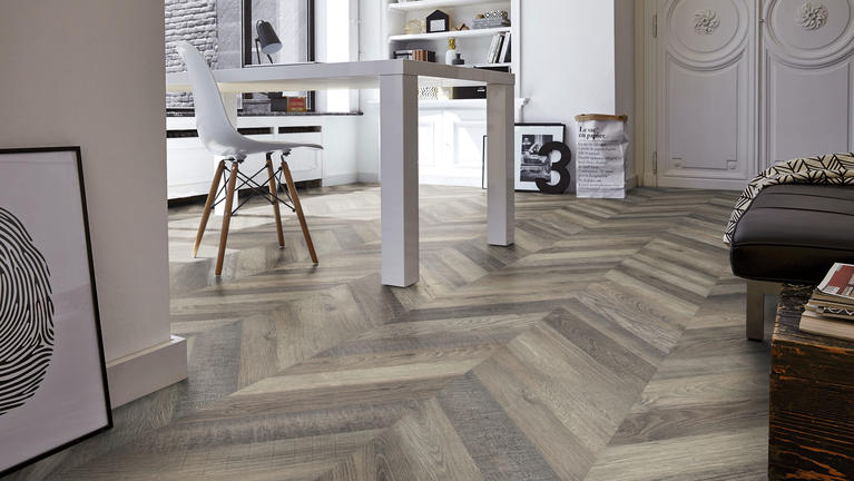 Choosing laminate floors for a home office