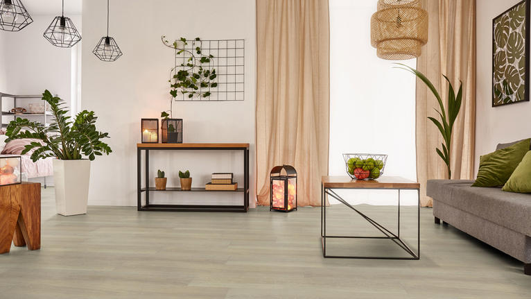 Choosing vinyl floors for a living room