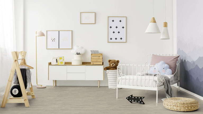 Choosing laminate floors for a child's bedroom