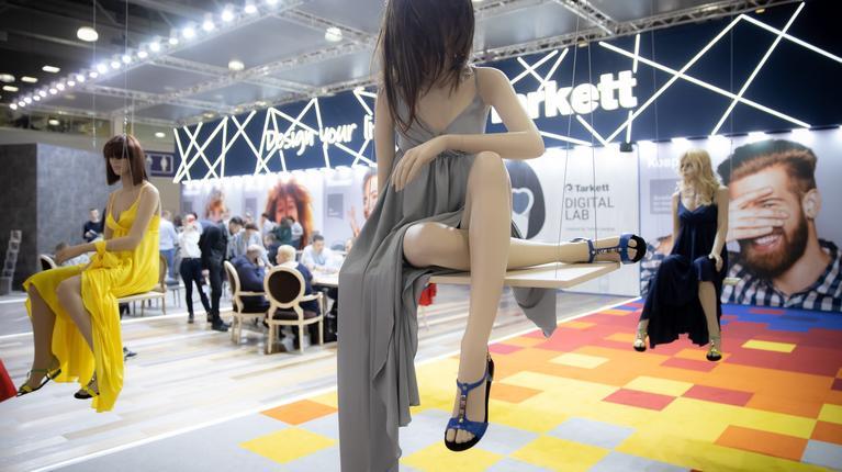 Дизайнерские решения Tarkett на выставке BATIMAT Russia 2019