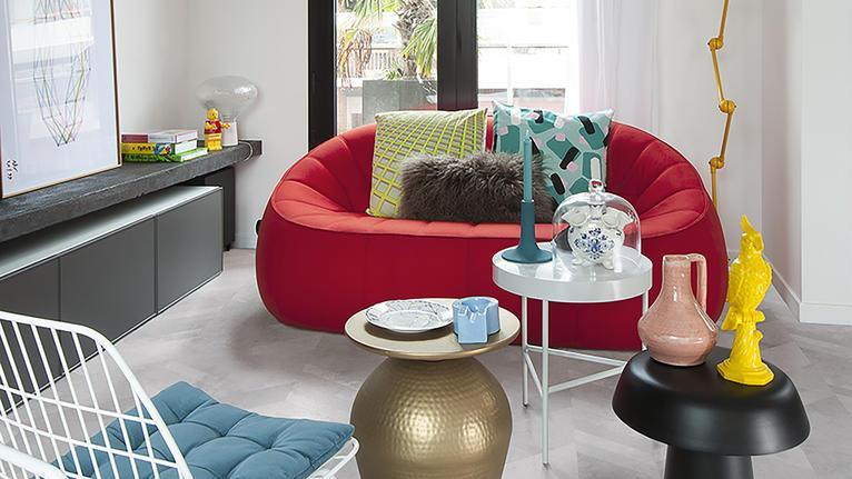 Een optimistische huis stijl creëren
