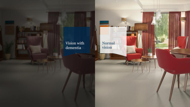 THROUGH THEIR EYES  Virtual reality experience to understand dementia-friendly design