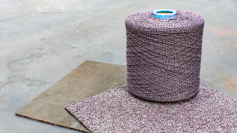 Closing the loop on carpets in a European industry first: Tarkett recycles 100% of carpet tile materials